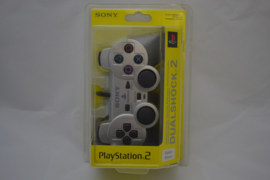 PlayStation 2 Official Controller 'Silver' (New)