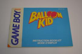 Balloon Kid (GB FAH MANUAL)