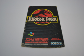 Jurassic Park (SNES ESP MANUAL)