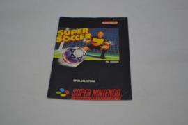 Super Soccer (SNES NOE MANUAL)