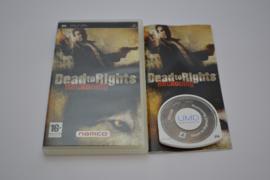 Dead To Rights - Reckoning (PSP PAL CIB)