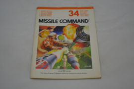 Missile Command Color (ATARI MANUAL)