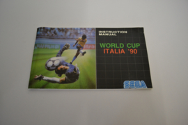 World Cup Italia '90 (MEGADRIVE MANUAL)