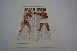 Boxing (ATARI MANUAL)
