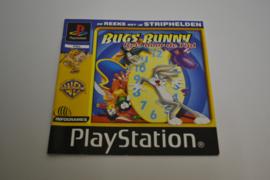 Bugs Bunny Reis Door De Tijd (PS1 PAL MANUAL)