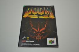 Doom 64 (N64 UKV MANUAL)