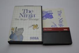 The Ninja - The Mega Cartridge (MS CIB)
