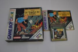 Tintin Le Temple Du Soleil (GBC FAH CIB)