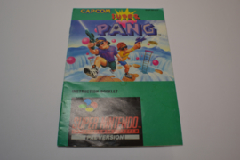 Super Pang (SNES UKV Manual)