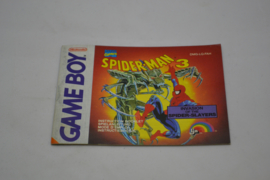 Spider-Man 3 (GB FAH MANUAL)