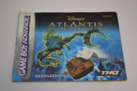 Atlantis de Verzonken Stad (GBA HOL MANUAL)