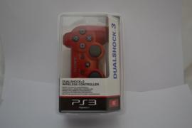 Sony PS3 Wireless Dualshock 3 Sixaxis Controller Deep Red Original NEW