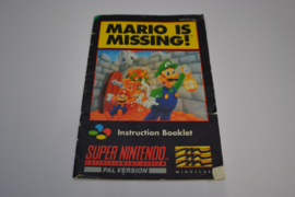 Mario is Missing! (SNES UKV MANUAL)