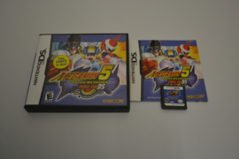 Megaman 5 Battle Network Double Team (DS USA CIB)