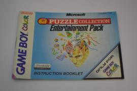 Microsoft Puzzle Collection Entertainment Pack  (GBC EUR MANUAL)