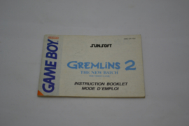 Gremlins 2 - The New Batch (GB FAH MANUAL)