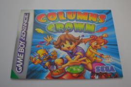 Columns Crown (GBA UKV MANUAL)