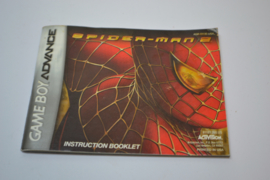 Spider-man 2 (GBA USA MANUAL)