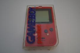 GameBoy Pocket RED + Transparent Case