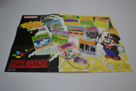 Super Nintendo Product Poster (Super Mario All Stars)