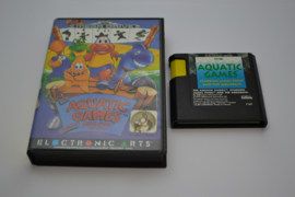 Aquatic Games Starring James Pond and the Aquabats (MD CB)