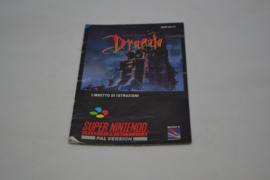 Bram Stoker's Dracula (SNES ITA MANUAL)