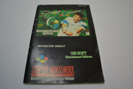 Jimmy Connors Pro Tennis Tour (SNES UKV MANUAL)
