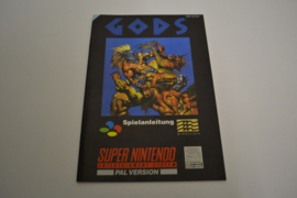 GODS (SNES FRG MANUAL)