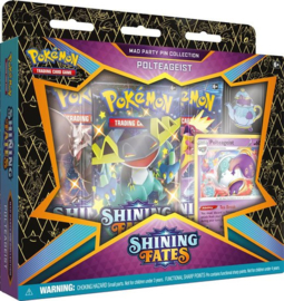 Pokémon: Shining Fates - Mad Party Pin Collection Polteageist NEW
