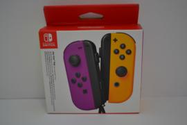 Nintendo Switch Joy-Con Pair - Neon Purple / Neon Orange NEW