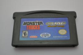 Monster Trucks / Quad Desert Fury (GBA USA)