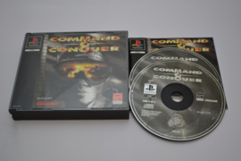Command And Conquer (PS1 PAL CIB)