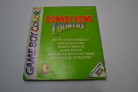 Donkey Kong Country (GBC NEU6 MANUAL)