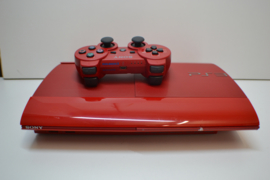 PlayStation 3  RED 500 GB Super Slim Console Set