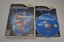 Alien Syndrome (WII FAH CIB)