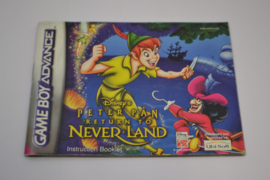 Disney`s Peter Pan - The Legend of Never Land (GBA EUR MANUAL)