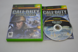 Call of Duty Finest Hour (XBOX CIB)