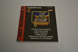 NES Classics - Castlevania (GBA NEU6 MANUAL)