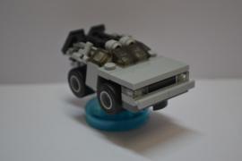 Lego Dimensions - Delorean Time Machine Minifig w/ Base