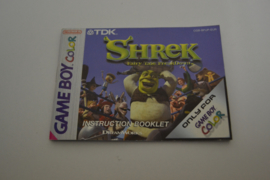 Shrek Fairy Tale Freakdown (GBC EUR MANUAL)