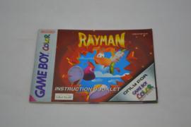 Rayman (GBC EUR MANUAL)