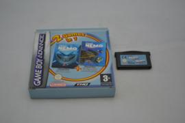 2 in 1 Games Finding Nemo + Finding Nemo Meer Avonturen (GBA FAH CB)