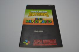Super Mario All Stars & Super Mario World (SNES HOL MANUAL)