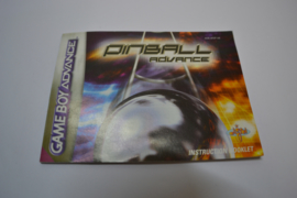 Pinball Advance (GBA UK MANUAL)