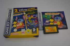 Disney's Lilo & Stitch 2 + Disney's Peter Pan - Return to Never-Land (GBA  EUU CIB)