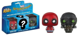 Pint Size Heroes Spider-Man Homecoming Spiderman, Vulture & Mystery Figure NEW
