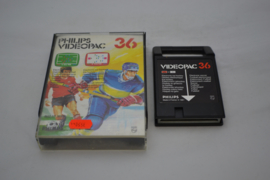 Electronic Ice Hockey / Electronic Soccer (VIDEOPAC 36)