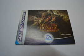 Medal Of Honor - Infiltrator (GBA HOL MANUAL)