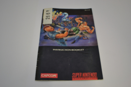 Final Fight 2 (SNES USA MANUAL)