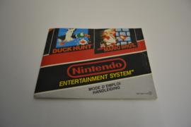 Super Mario Bros / Duck Hunt (NES MANUAL)